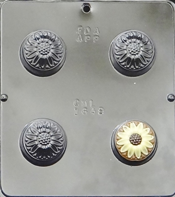 1649 Sunflower Oreo Cookie Chocolate Candy Mold