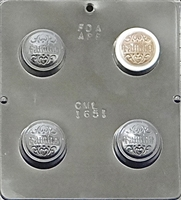 "1651 ""Family"" Oreo Cookie Chocolate Candy Mold"