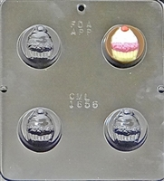 1656 Cupcake Oreo Cookie Chocolate Candy Mold