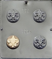 1670 Boy Scout Oreo Cookie Chocolate Candy Mold