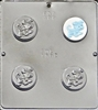 1682 Puppy Dog Oreo Cookie Chocolate Candy Mold