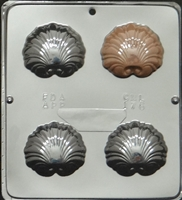 176 Sea Shells Chocolate Candy Mold