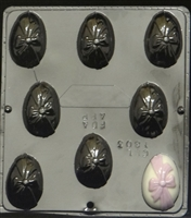 1803 Egg with Bow Chocolate Candy Mold