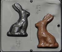 1828 Bunny Assembly Chocolate Candy Mold