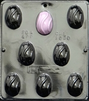 1830 Egg with Swirl Chocolate Candy Mold