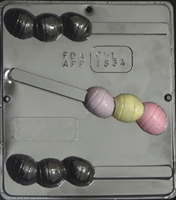 1834 Egg Pretzel Chocolate Candy Mold