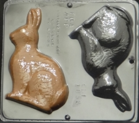 1835 Bunny Assembly Chocolate Candy Mold