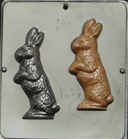 1837 Standing Bunny Chocolate Candy Mold