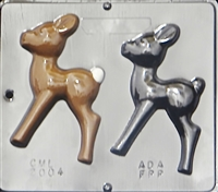 2004 Reindeer Chocolate Candy Mold