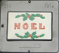 2014 Noel Card Chocolate Candy Mold