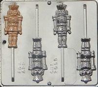 2055 Nutcracker Lollipop Chocolate Candy Mold