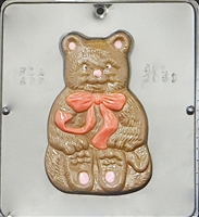 2061 Christmas Bear Chocolate Candy Mold