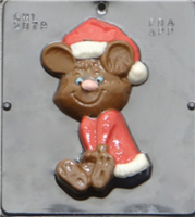 2079 Large Christmas Mouse Chocolate Candy Mold
