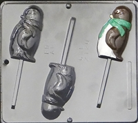 2120 Penguin Lollipop Chocolate Candy Mold