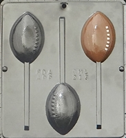 213 Football Pop Lollipop Chocolate Candy Mold