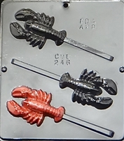 246 Lobster Lollipop Chocolate Candy Mold