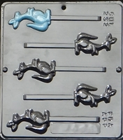 252 Kangaroo Lollipop Chocolate Candy Mold