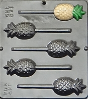271 Pineapple Lollipop Chocolate Candy Mold