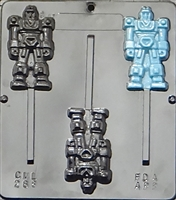 288 Robot Lollipop Chocolate Candy Mold