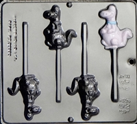289 Dinosaur Lollipop Chocolate Candy Mold