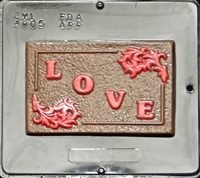 3005 Love Card Chocolate Candy Mold