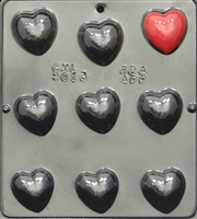 3013 Heart Pieces Chocolate Candy 