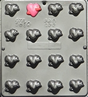 3015 Heart Pierced by Arrow Chocolate Candy Mold