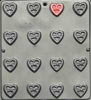 3018 Small Love on Heart Pieces