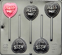 3030  Kiss Me Pop Lollipop Chocolate