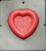 3039 Heart Frame for Photo Chocolate 