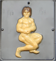 307 Muscle Man Chocolate Candy Mold