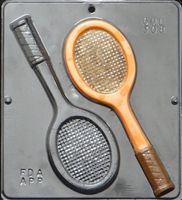 308 Tennis Racquets Chocolate Candy Mold