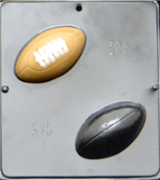 320 Football Assembly Chocolate Candy Mold
