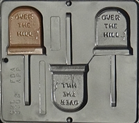 3303 Over the Hill Lollipop Chocolate Candy Mold