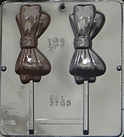 3305 Bow Tie Lollipop Chocolate Candy Mold