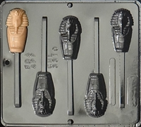 3310 Egyptian Mummy Lollipop Chocolate Candy Mold