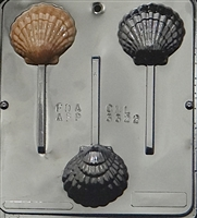 3322 Sea Shell Lollipop Chocolate Candy Mold