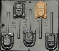 3354 Juke Box Lollipop Chocolate Candy Mold