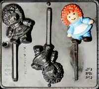 3425 Rag Doll Pop Lollipop Chocolate Candy Mold