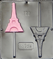 3434 Eiffel Tower Paris Lollipop Chocolate Candy Mold