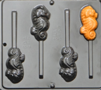 3457 Seahorse Chocolate Candy Mold