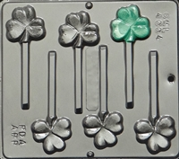 4004 Three Leaf Clover St. Patrick's Day Candy Mold