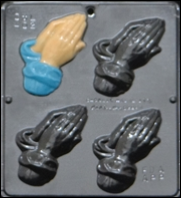 402 Praying Hands Chocolate Candy Mold