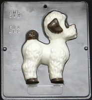 513 Poodle Dog Chocolate Candy Mold