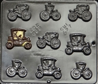 527 Antique Cars (Small) Chocolate Candy Mold