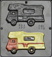 529 Camper Chocolate Candy Mold