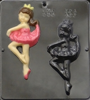 533 Ballerina Chocolate Candy Mold