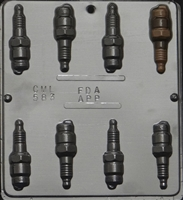 583 Spark Plug Chocolate Candy Mold