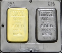 592 Gold Bar Chocolate Candy Mold