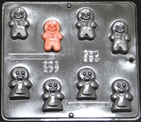 594 Gingerbread Pieces Chocolate Candy Mold